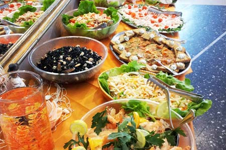 Side dishes buffet